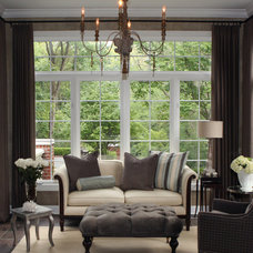 Traditional Family Room by Lark Interior Design
