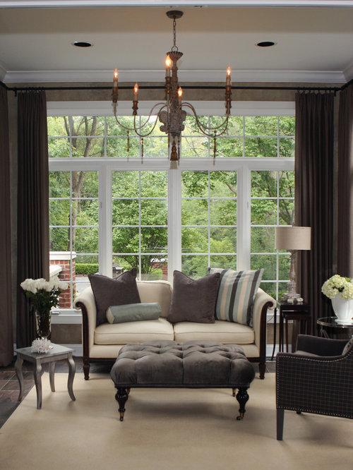 Balcony reclining chair. Real wood cloth art sofa folding