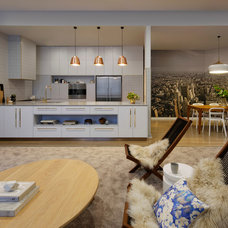 Contemporary Family Room by Katherine Wills Interiors