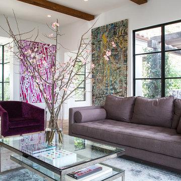 Laurel Canyon - Total Renovation, Steel Doors/Windows & Addition