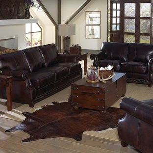 Leather Sofas & Leather Living Room Furniture Sets