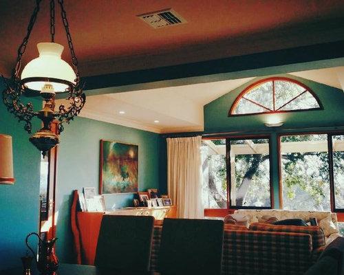 soggiorno con pareti verdi canberra - queanbeyan - foto e idee per ... - Soggiorno Pareti Verdi 2