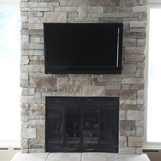 Traditional Family Room by North Star Stone