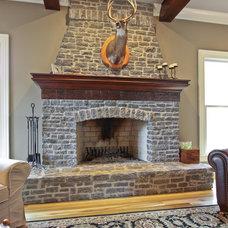 Traditional Family Room by E. Miles Custom Builder, Inc.
