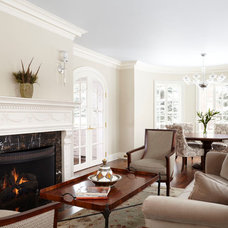 Traditional Family Room by Ingrained Wood Studios