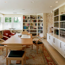Contemporary Family Room by Andersen Miller Design