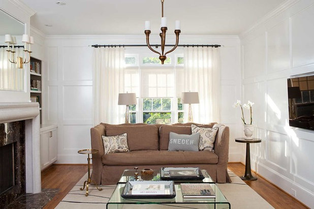 Scandinavian Family Room by Terracotta Design Build