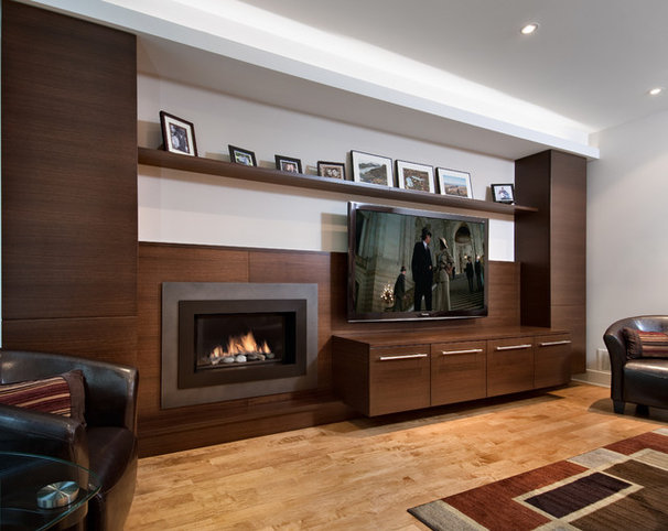 Contemporary Family Room by Design First Interiors