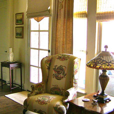 Traditional Family Room by Pat Reese Enterprises
