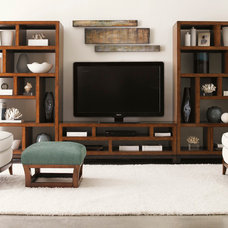 contemporary family room by Barbara Schaver @ Furnitureland South