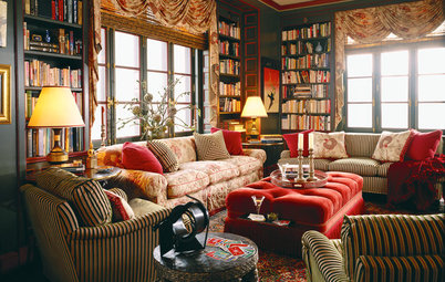 Go for the Bold: 14 Great Ideas for Patterned Upholstery