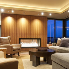 Contemporary Family Room by Gregory Carmichael