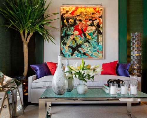 Living Room Art Houzz