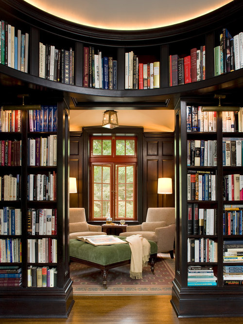 English Paneled Room: Library Paneling Home Design Ideas, Pictures, Remodel And