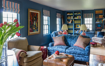 Room of the Day: A Blue-Walled Beauty