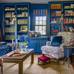 Library/ Music Room of 18th Century Federal Farmhouse