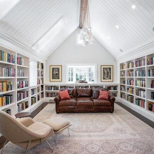 Library - Newton Custom Home - 03