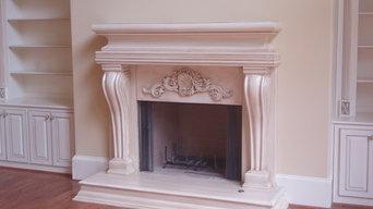Limestone Fireplace Surrounds / Saler