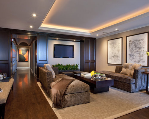 Miraculous Tray Ceiling Living Room Design Ideas Renovations Photos Largest Home Design Picture Inspirations Pitcheantrous