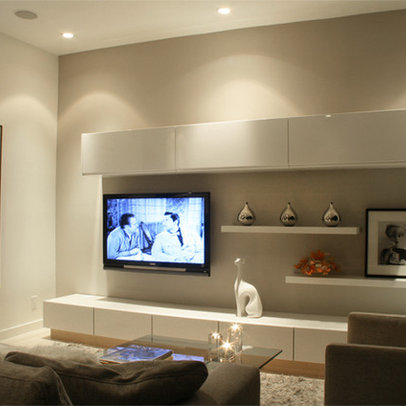 Wall Tv Units Family Room Design Ideas Pictures Remodel Decor