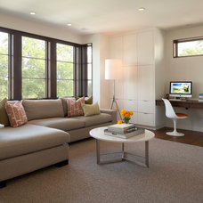 Contemporary Family Room by Andrea Swan - Swan Architecture