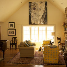 Traditional Family Room by Abby Design and Construction