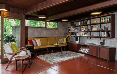 USA Houzz: Welcome to a Mid-Century Abode Inspired By a Master