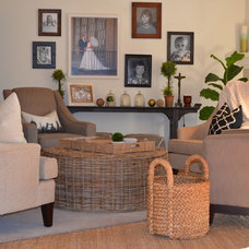 Beach Style Family Room by TANNA BY DESIGN