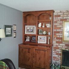 Traditional Family Room by ATC Cabinets
