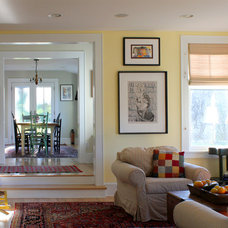 Contemporary Family Room by Vermont Integrated Architecture