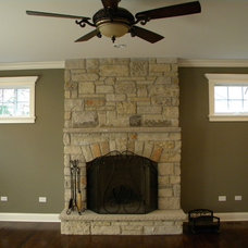 Traditional Family Room by Cypress Hill Development LLC