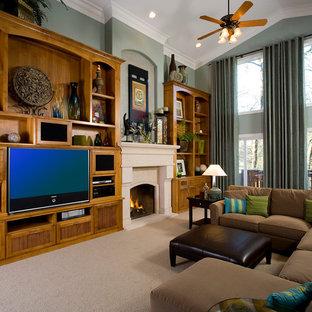 Living, Dining & Family Room Interior Design