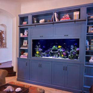 Living Reef Custom Aquarium in Wall-unit