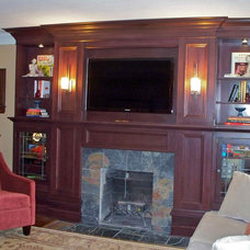 Traditional Family Room by GHStyleworks