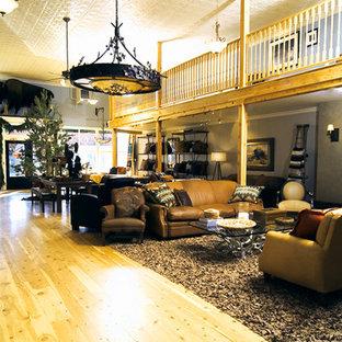 Living Room Buffalo Leather Furnishings