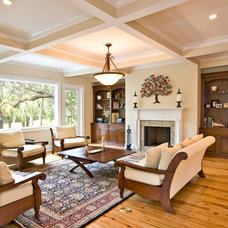 Traditional Family Room by Cinder Creek Construction