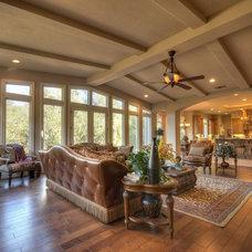 Traditional Family Room by Deborah Costa