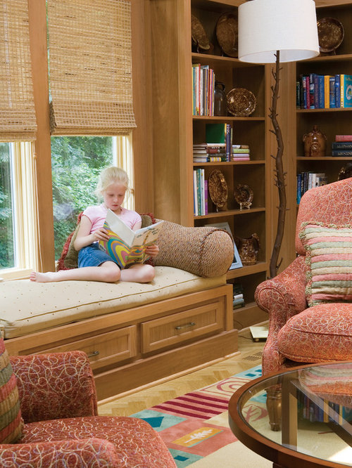Library Window Seat | Houzz