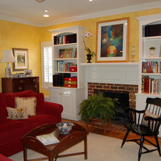 Traditional Family Room by Bright Bold and Beautiful
