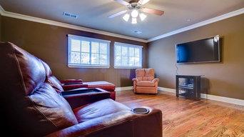 Living Room Flooring Installation