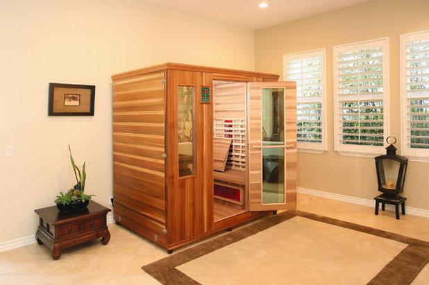 9 astuces pour am nager un sauna chez soi. Black Bedroom Furniture Sets. Home Design Ideas