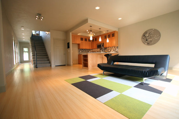 Modern Family Room by Jordan Iverson Signature Homes