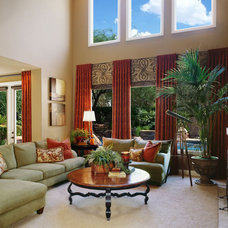 Family Room by Robeson Design