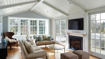 Living room/sunroom addition