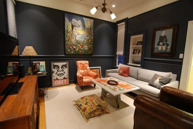 Contemporary Family Room Living room transformation
