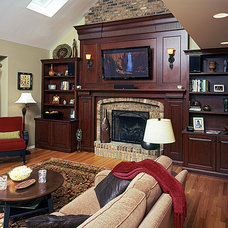 Traditional Family Room by Lemont Kitchen and Bath