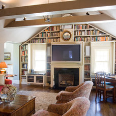 Traditional Family Room by Roy Campana Photography