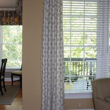 Traditional Family Room by Sharon Lake-Gargano