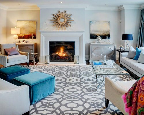 Area rug living room houzz - Living room area rugs ...