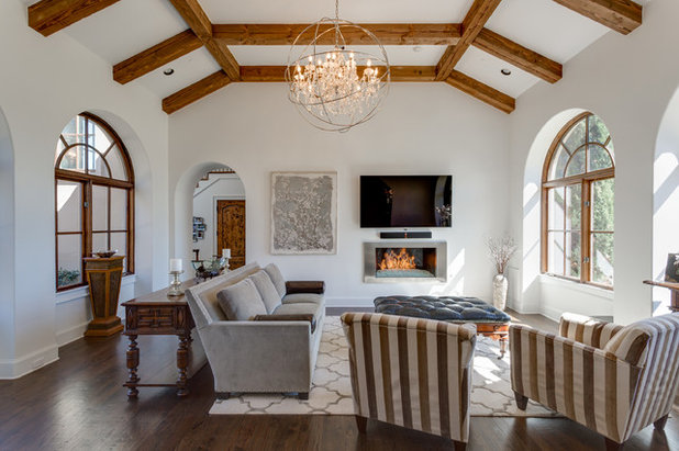 Transitional Family Room by Epic Foto Group
